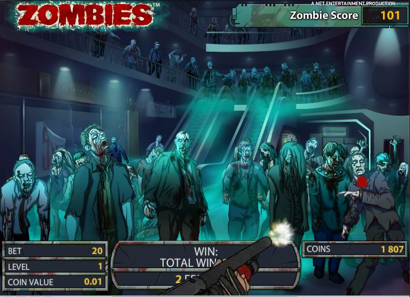 free spins zombies