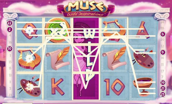 freespins in muse slot