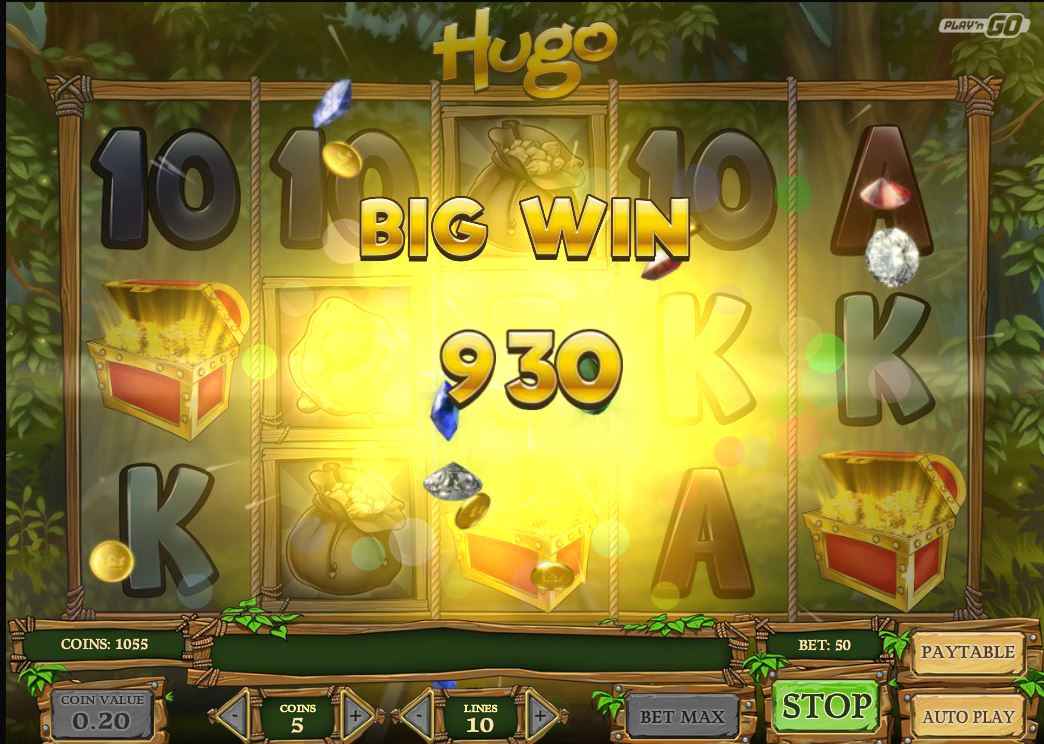 hugo slot big win