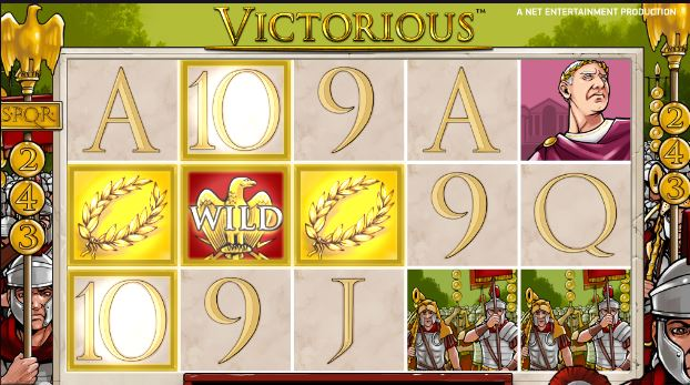 victorious freespins feature