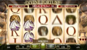 divine fortune falling wilds