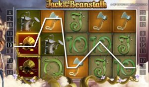 free spins in jack and the beanstalk