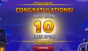 free spins in copy cats